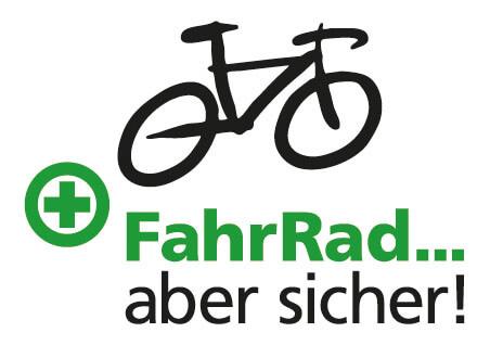 Logo Fahrrad ... aber sicher