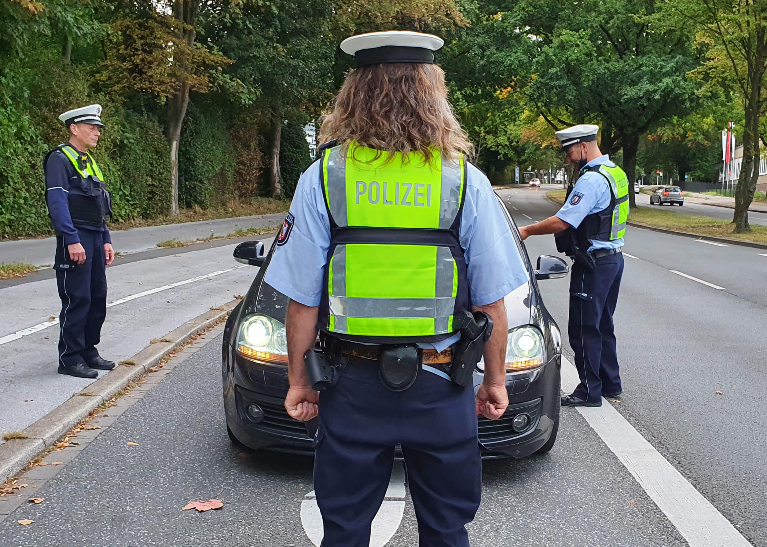 Licht-Test, Polizei-Kontrolle