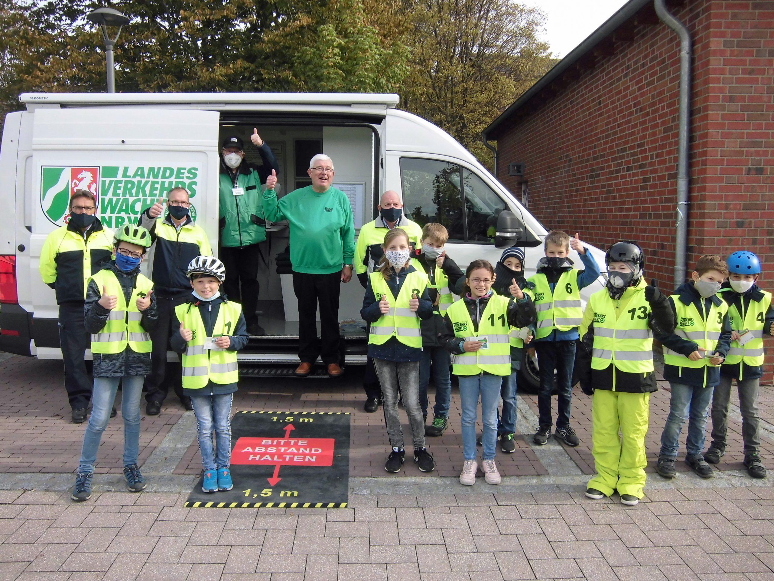 KVW Heinsberg, Kinder haben Radfahrausbildung nachgeholt