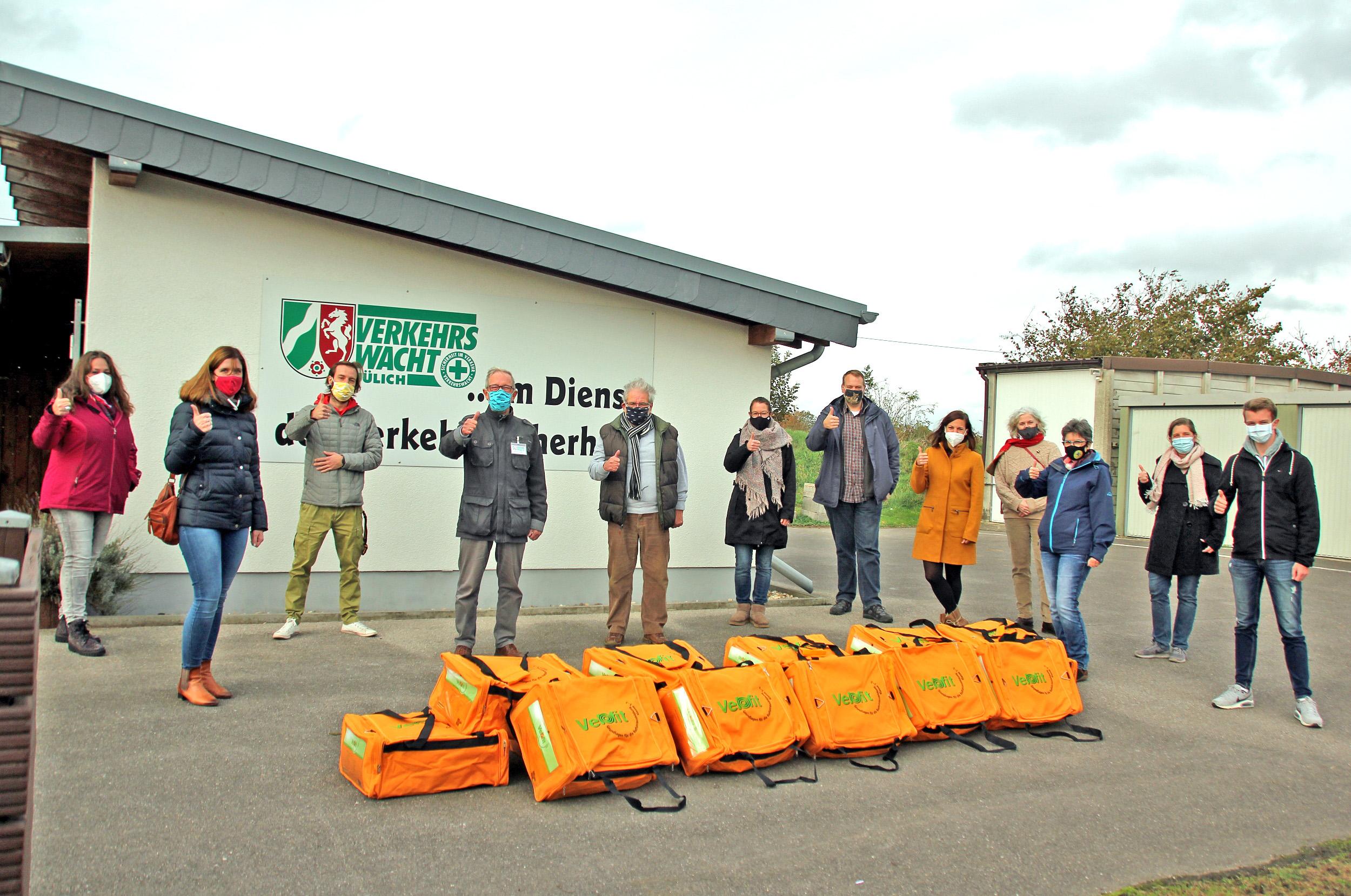 Verkehrswacht Jülich, Velofit-Taschen